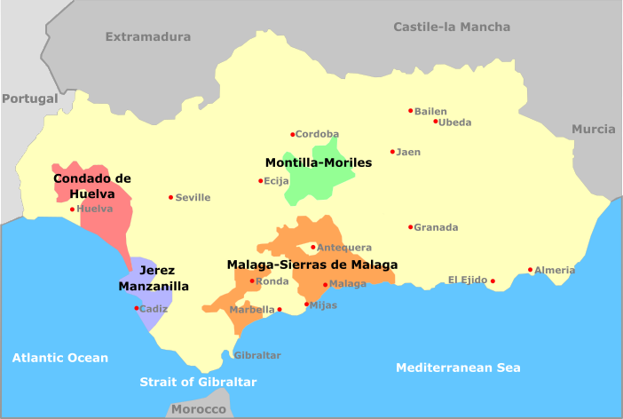 andalusia_regions Region Map Of Malaga on region map of tokyo, region map of lima, region map of baltimore, region map of new york, region map wa, region map of dublin,