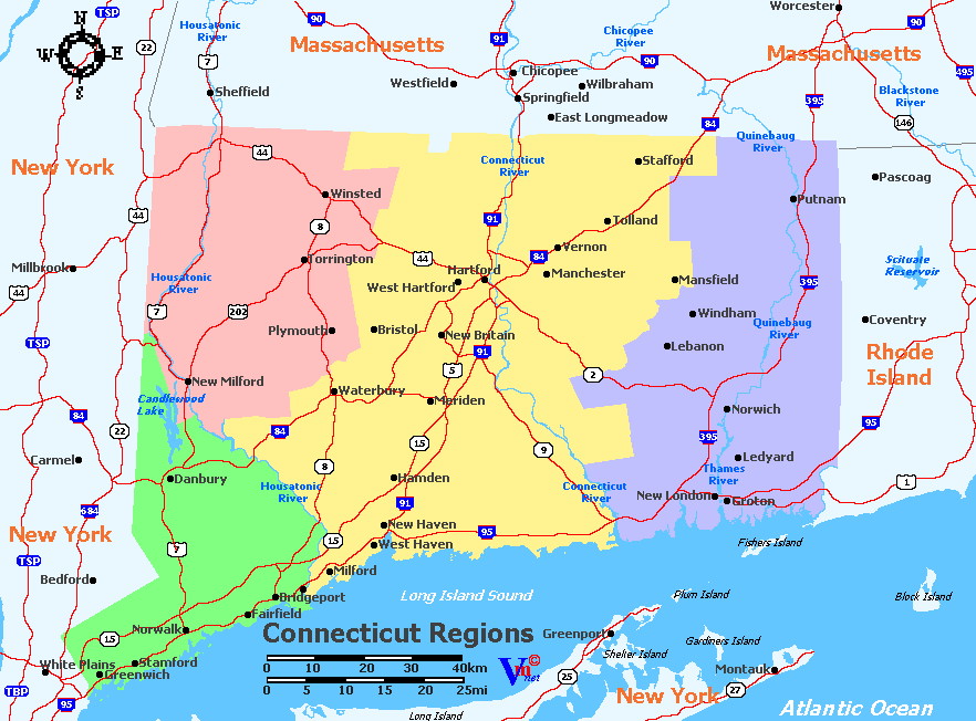 Connecticut Wine Regions
