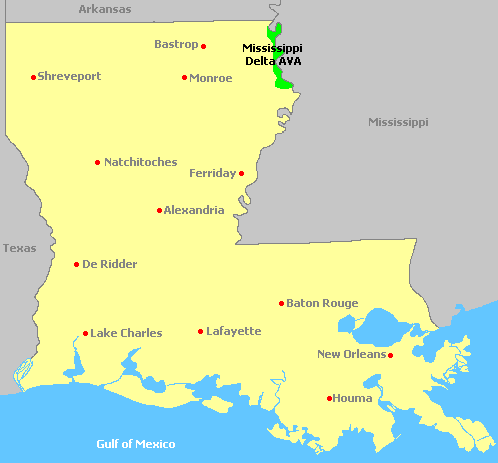 Map Of Louisiana - Louisiana on us map