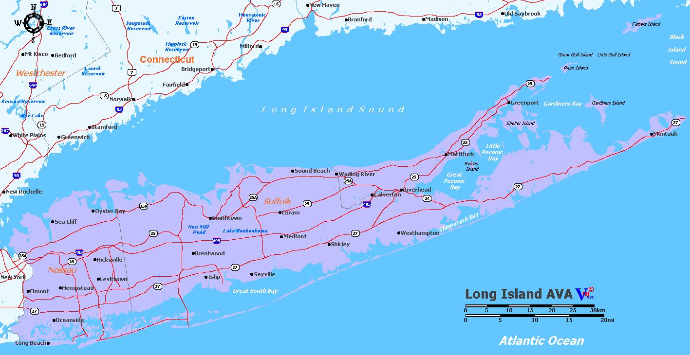 Map of Long Island AVA Map Long Island Ny on the bronx, long island map showing towns, suffolk county long island map, long island wantagh, antique long island map, long island herricks, new york map, new york city, nassau county, long island rail map, long island lirr map, washington dc map, long island buffalo, nassau county long island map, new york metropolitan area, suffolk county, long island new york, staten island, long island map view, long island sound, coney island, long island town names, long island bronx map, long island railroad map, long island connecticut map, times square, battle of long island, long beach, long island potato fields, long island boston map, ellis island, north shore long island map, hudson river, brooklyn bridge,