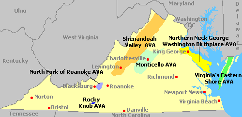 Map Of Virginia - Map of virgina